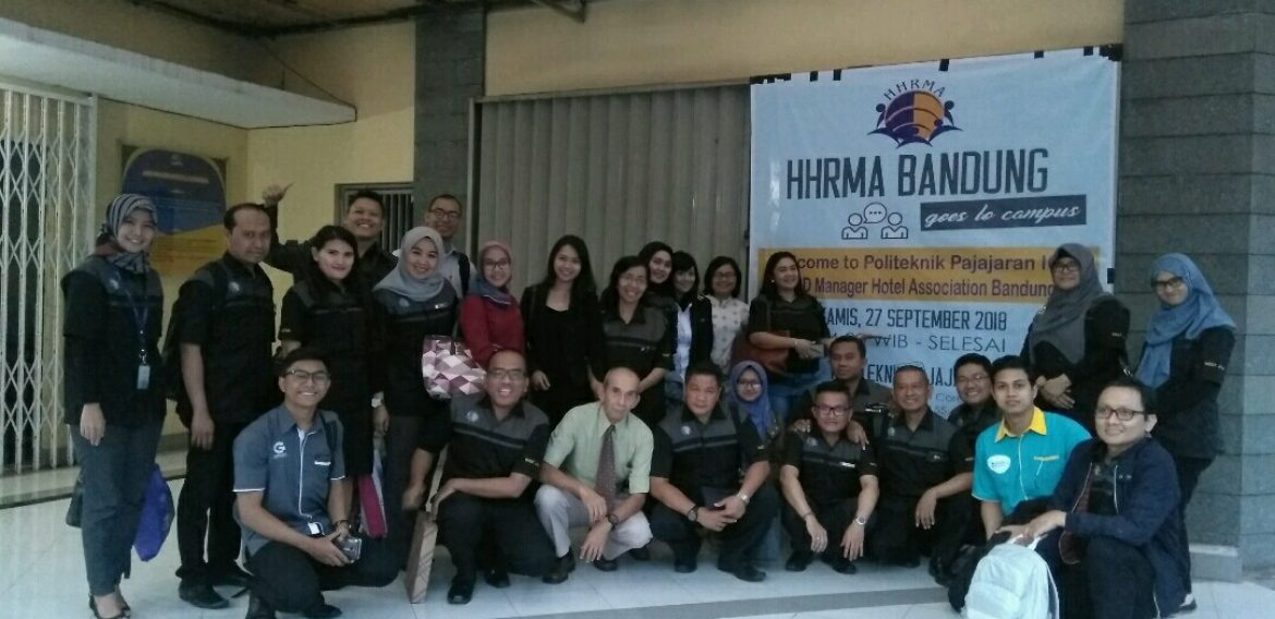 kunjungan HHRMA ( Hotel Human Resources Managers Association )